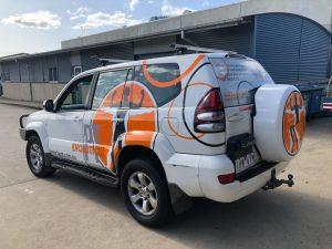 Vehicle wrap for Body Evolution PT